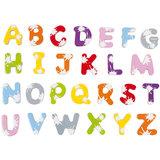 Janod Magneten - 52 magnetische letters splash_