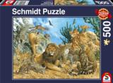 Schmidt Puzzel Grote Katten_