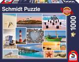 Schmidt Puzzel Bij de Zee_