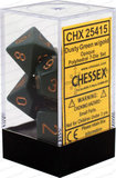 Chessex Dice Set Opa Poly Dust Green/Copper CHX 25415_