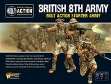 Bolt Action British 8th Army Starter Army_