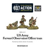 Warlord Games Bolt Action US Army FOO team_