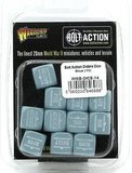 Warlord Games Bolt Action Orders Dice Blue_