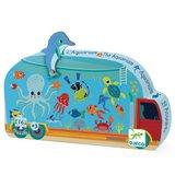 Djeco Silhouette Puzzel Aquarium_