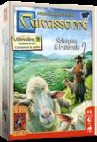 Carcassonne: Uitbreiding  9 Schapen en Heuvel 999-Games_