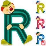 Janod Clown Letter R_