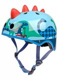 Micro Step Helm 3D Dino blauw Small_