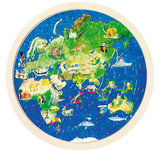 Goki Wereldbol puzzel_