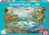 Schmidt Puzzel Ontdek de Dinosaurussen_