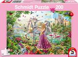 Schmidt Puzzel De fee in het betoverde bos_