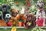 Schmidt Puzzel Speelse Puppies_