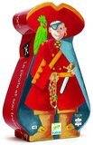 Djeco Silhouette Puzzle - The pirate and his treasure 36 pcs_