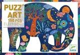 Djeco Puzz Art - Elephant 350 pcs_