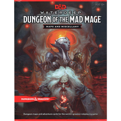 D&D 5.0 Waterdeep Dungeon of the Mad Mage Maps and Miscellany