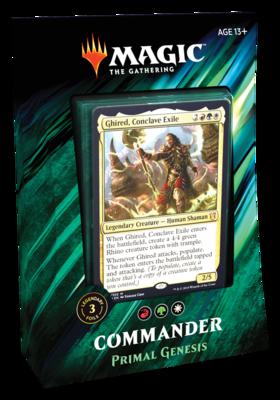 MTG Commander Primal genesis
