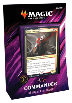 MTG Commander 2019 Merciless Rage