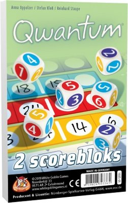 Qwantum bloks (extra scorebloks) White Goblin Games