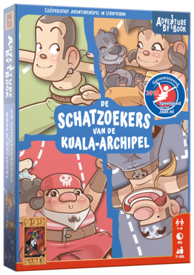 Adventure By Book: De Schatzoekers van de Kuala-archipel 999-Games