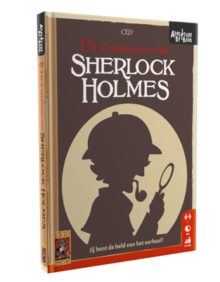 Adventure by Book: Sherlock Holmes 999-Games