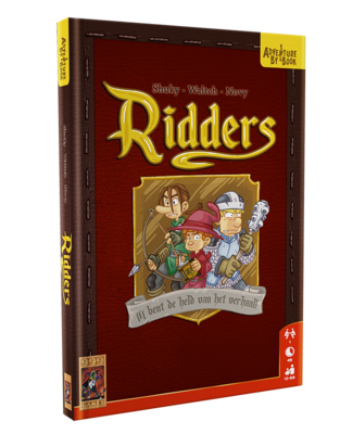 Adventure by Book: Ridders 999-Games