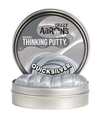 Crazy Aaron's Thinking Putty Quicksilver Magnetic