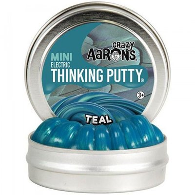 Crazy Aaron's Thinking Putty Teal Mini