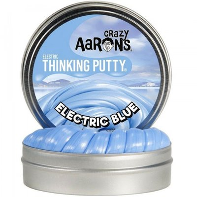 Crazy Aaron's Thinking Putty Electric Blue Mini