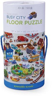 Crocodile Creek Tube Puzzle Busy City