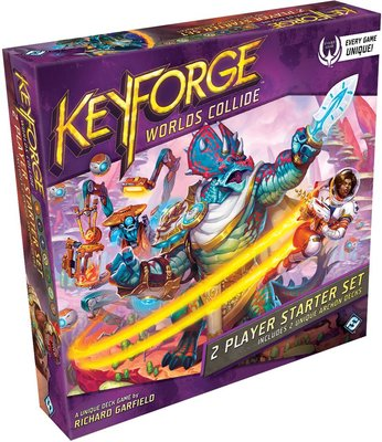 Keyforge Worlds Collide 2-Player Starter