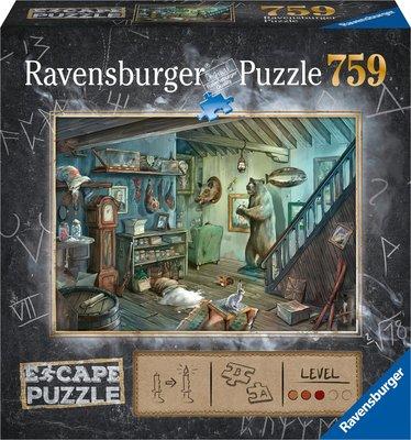 Ravensburger Escape Puzzel 8 In de Griezelkelder