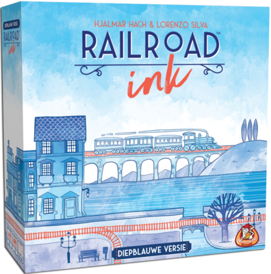Railroad Ink Diepblauwe versie White Goblin Games