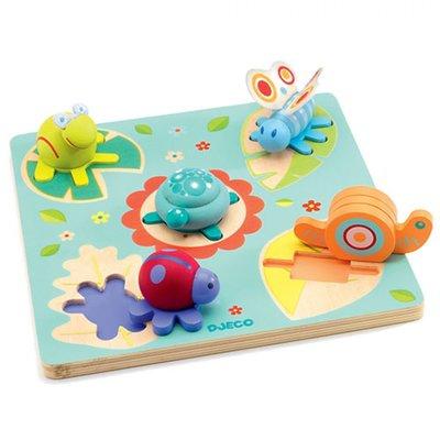 Djeco 3D Puzzel Lilo schildpad en vriendjes