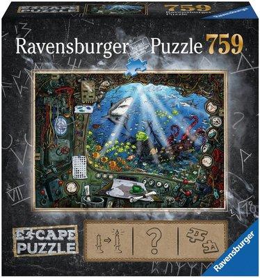 Ravensburger Escape Puzzel 4 In de Onderzeeër