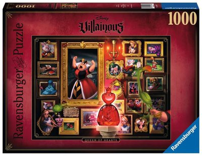 Ravensburger Disney Villainous Puzzel: Queen of Hearts