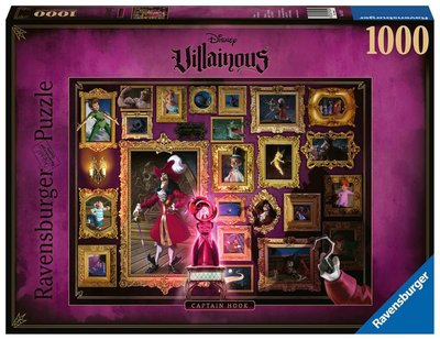 Ravenburger Disney Villainous Puzzel: Captain Hook