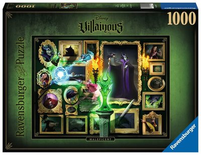 Ravensburger Disney Villainous Puzzel: Maleficent