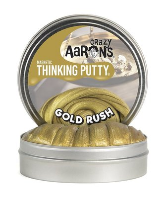 Crazy Aarons Thinking Putty Magnetic Gold Rush