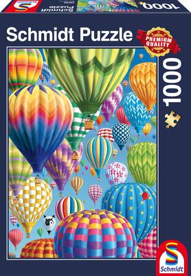 Schmidt Puzzel Bonte Balonnen in de Lucht