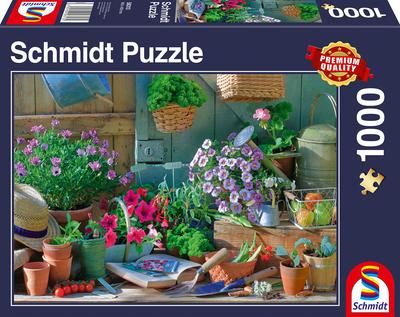 Schmidt Puzzel Aan de Tuintafel