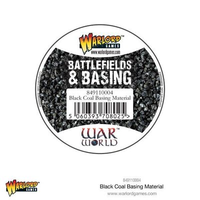 Black Coal Basing Material 180 ml Warlord Games