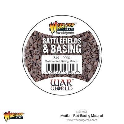 Medium Red Basing Material 180 ml Warlord Games