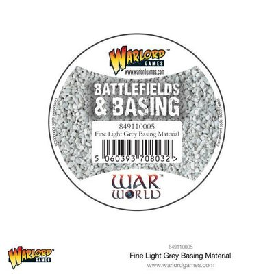 Fine Light Grey Basing Material 180 ml Warlord Games