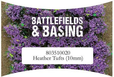 Heather Tufts 10 mm Warlord Games