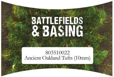 Ancient Oakland tufts 10 mm Warlord Games