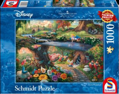 Schmidt Puzzel Disney Alice in Wonderland