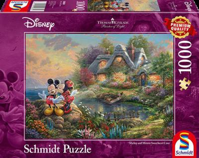 Schmidt Puzzel Disney Mickey & Minnie