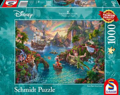 Schmidt Puzzel Disney Peter Pan