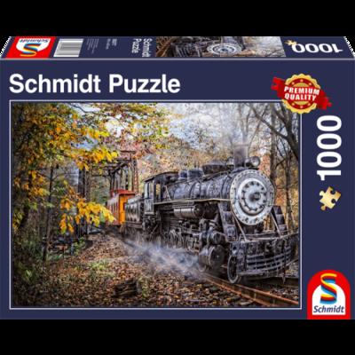 Schmidt Puzzel Fascinerend treinspoor