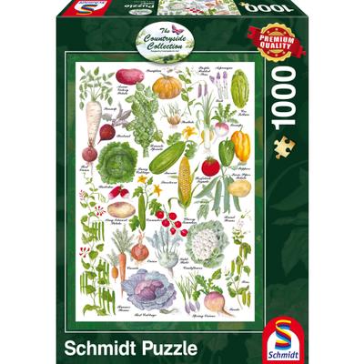 Schmidt Puzzel Groententuin