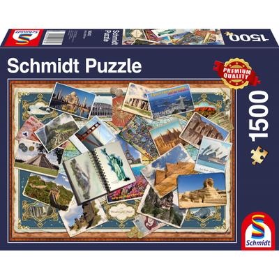 Schmidt Puzzel Groeten vanuit de Wereld